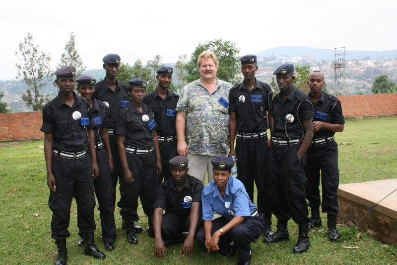 Rwanda National Police Economic Crimes Class March 2009